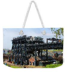 Boat Lift Weekender Tote Bag