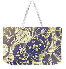 Boating Buttons Weekender Tote Bag