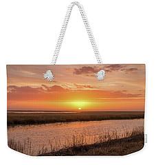 Bombay Hook Sunrise Weekender Tote Bag