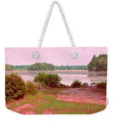 Borderland Pond With Monet's Palette Weekender Tote Bag