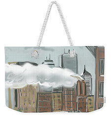 Boston After The Blizzard Weekender Tote Bag
