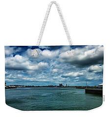 Boston Harbor Weekender Tote Bag