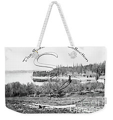 Weekender Tote Bag featuring the photograph Boston Harbor, View To The Nw by Joe Jeffers