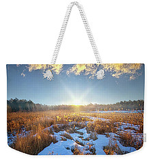 Weekender Tote Bag featuring the photograph Bound Within The Silence by Phil Koch