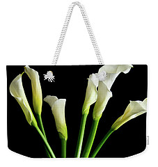 Bouquet Of Calla Lilies Weekender Tote Bag