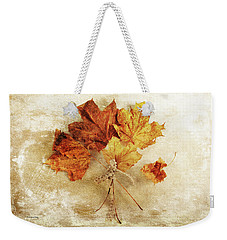 Weekender Tote Bag featuring the photograph Bouquet Of Memories by Randi Grace Nilsberg
