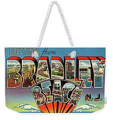 Bradley Beach Greetings Weekender Tote Bag