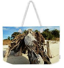 Branch On Beach Weekender Tote Bag