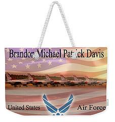 Brandon Fleece Blanket Weekender Tote Bag