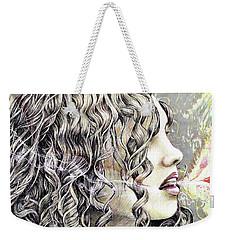 Breath Weekender Tote Bag