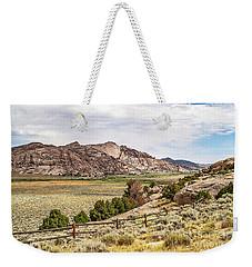 Breathtaking Wyoming Scenery Weekender Tote Bag