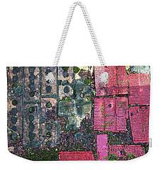 Brick Composition 3 Weekender Tote Bag
