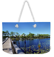 Bridge In Watercolor Weekender Tote Bag