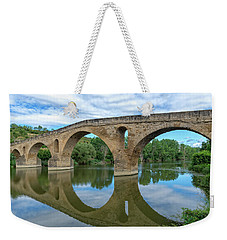 Bridge The Queen On The Way To Santiago Weekender Tote Bag