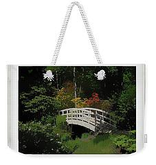 Bridge To The Azalea Gardens Weekender Tote Bag