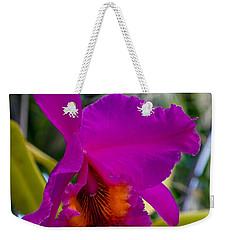 Brilliant Orchid Weekender Tote Bag