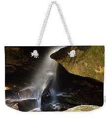 Broken Rock Falls Weekender Tote Bag