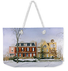 Broom Street Snow Weekender Tote Bag