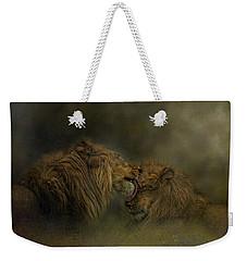 Brotherly Love Weekender Tote Bag