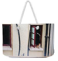 Brown Weekender Tote Bag