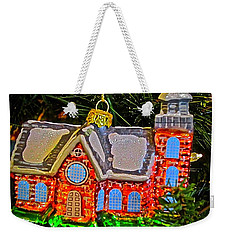 Weekender Tote Bag featuring the photograph Bruton Parish Church by Don Moore