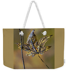 Weekender Tote Bag featuring the photograph Buddies by Michael Arend