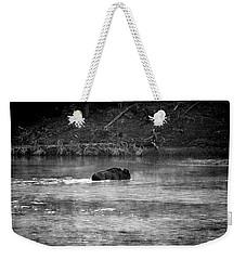 Buffalo Crossing Weekender Tote Bag