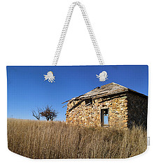Weekender Tote Bag featuring the photograph Built To Last by Carl Young