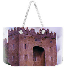 Bunratty Castle Painting Weekender Tote Bag