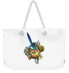 Burj Khalifa Tiny Planet Weekender Tote Bag