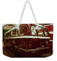 Bus 101 Painting Weekender Tote Bag