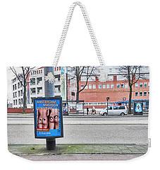 Butt Weekender Tote Bag
