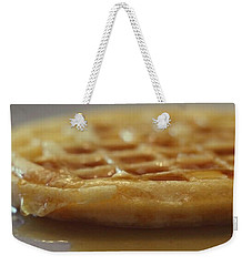 Buttered Waffle With Maple Syrup Weekender Tote Bag