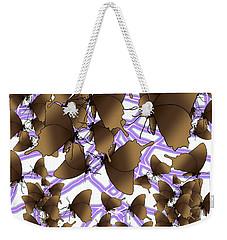 Butterfly Patterns 12 Weekender Tote Bag