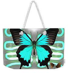 Butterfly Patterns 24 Weekender Tote Bag
