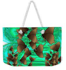 Butterfly Patterns 3 Weekender Tote Bag