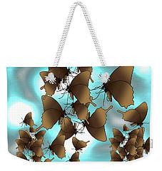 Butterfly Patterns 7 Weekender Tote Bag