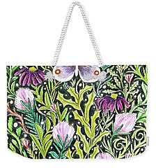 Butterfly Tapestry Design Weekender Tote Bag