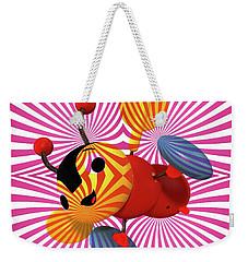 Buzzie Bee Icon Weekender Tote Bag
