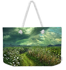Weekender Tote Bag featuring the photograph By The By by Phil Koch