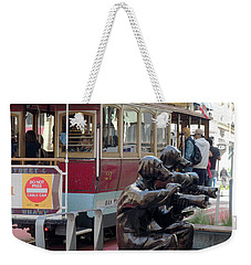 Cable Car And Paparazzi Dogs 2 Weekender Tote Bag