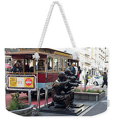 Cable Car And Paparazzi Dogs Weekender Tote Bag