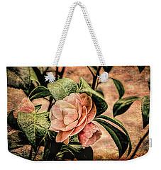 Camellia Grunge Weekender Tote Bag