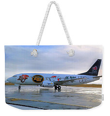 Canadian Football League Official  Plane   Weekender Tote Bag