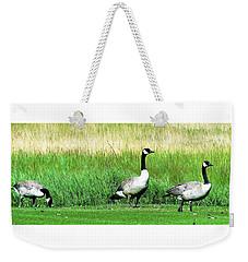 Canadian Geese 3s Company2 Weekender Tote Bag
