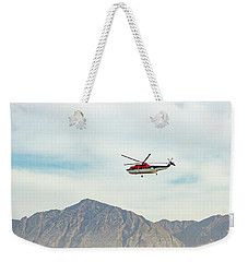 Weekender Tote Bag featuring the photograph Canadian Helicopters Sikorsky S61n C-gjqg by SR Green