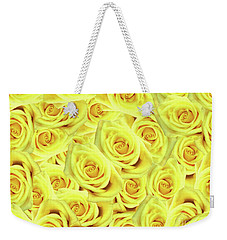 Candlelight Roses Weekender Tote Bag