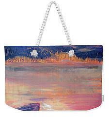 Canoe Trips Weekender Tote Bag