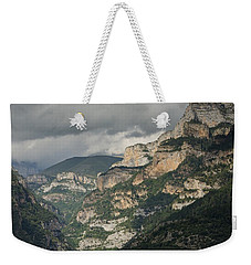 Weekender Tote Bag featuring the photograph Canyon Anisclo by Stephen Taylor