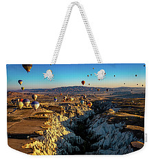 Weekender Tote Bag featuring the photograph Capadoccia by Francisco Gomez
